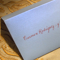 Inspiration, Stationery, red, blue, Invitations, Wedding, Board, La caligrafa -calligraphy in central america-