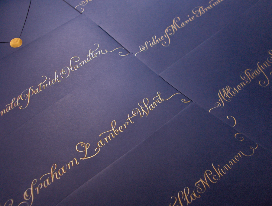 Inspiration, Stationery, blue, Invitations, Board, La caligrafa -calligraphy in central america-