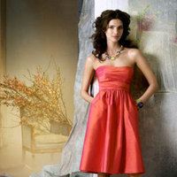 Bridesmaids, Bridesmaids Dresses, Wedding Dresses, Fashion, orange, pink, dress