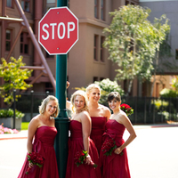 Bridesmaids, Bridesmaids Dresses, Wedding Dresses, Fashion, red, dress, Women, Allison reed photography