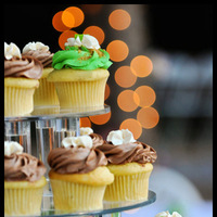 Cakes, green, brown, cake, Cupcakes, Emmajane photography