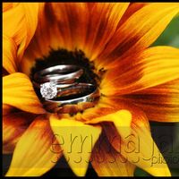 Flowers & Decor, Jewelry, yellow, orange, Engagement Rings, Flowers, Flower, Ring, Details, Emmajane photography