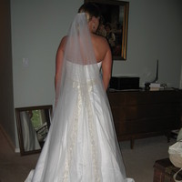 Wedding Dresses, Fashion, dress, Backside