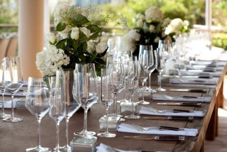 Reception, Flowers & Decor, white, green, Outdoor, Dinner, Tealight weddings events, Intimate