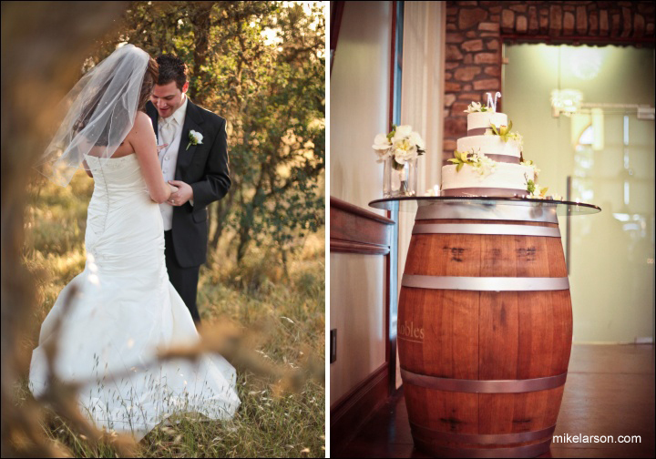 Beauty, Ceremony, Reception, Flowers & Decor, Wedding Dresses, Cakes, Fashion, cake, dress, Vineyard, Vineyard Wedding Cakes, Hair, Banquet, Winery, Room, California, Indoor, Robles, Paso, Vina robles winery