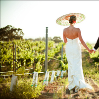 Ceremony, Inspiration, Flowers & Decor, Wedding Dresses, Fashion, white, green, dress, Vineyard, Outdoor, Board, Winery, California, Vina robles winery
