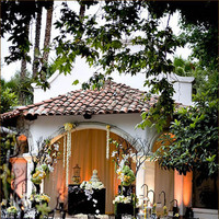 Ceremony, Reception, Flowers & Decor, white, yellow, green, black, gold, Ceremony Flowers, Lighting, Flowers, Arch, And, Orchids, Fabric, Las, Rancho, Lomas, Decorations, Manzanita, Inviting occasion