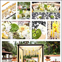 Reception, Flowers & Decor, Photography, white, yellow, green, black, Centerpieces, Flowers, Centerpiece, Wedding, Table, Arch, And, Sweetheart, M, Las, Rancho, Lomas, Succulents, Crystals, Suite, Inviting occasion