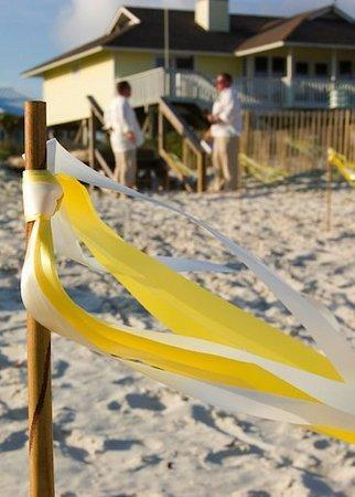yellow, Beach, Ribbon