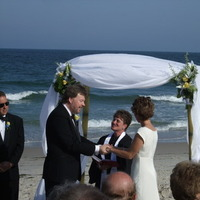 Ceremony, Flowers & Decor, Beach, Beach Wedding Flowers & Decor, Ocean, New, Shore, Jersey, Nightlife enterainment disc jockey service