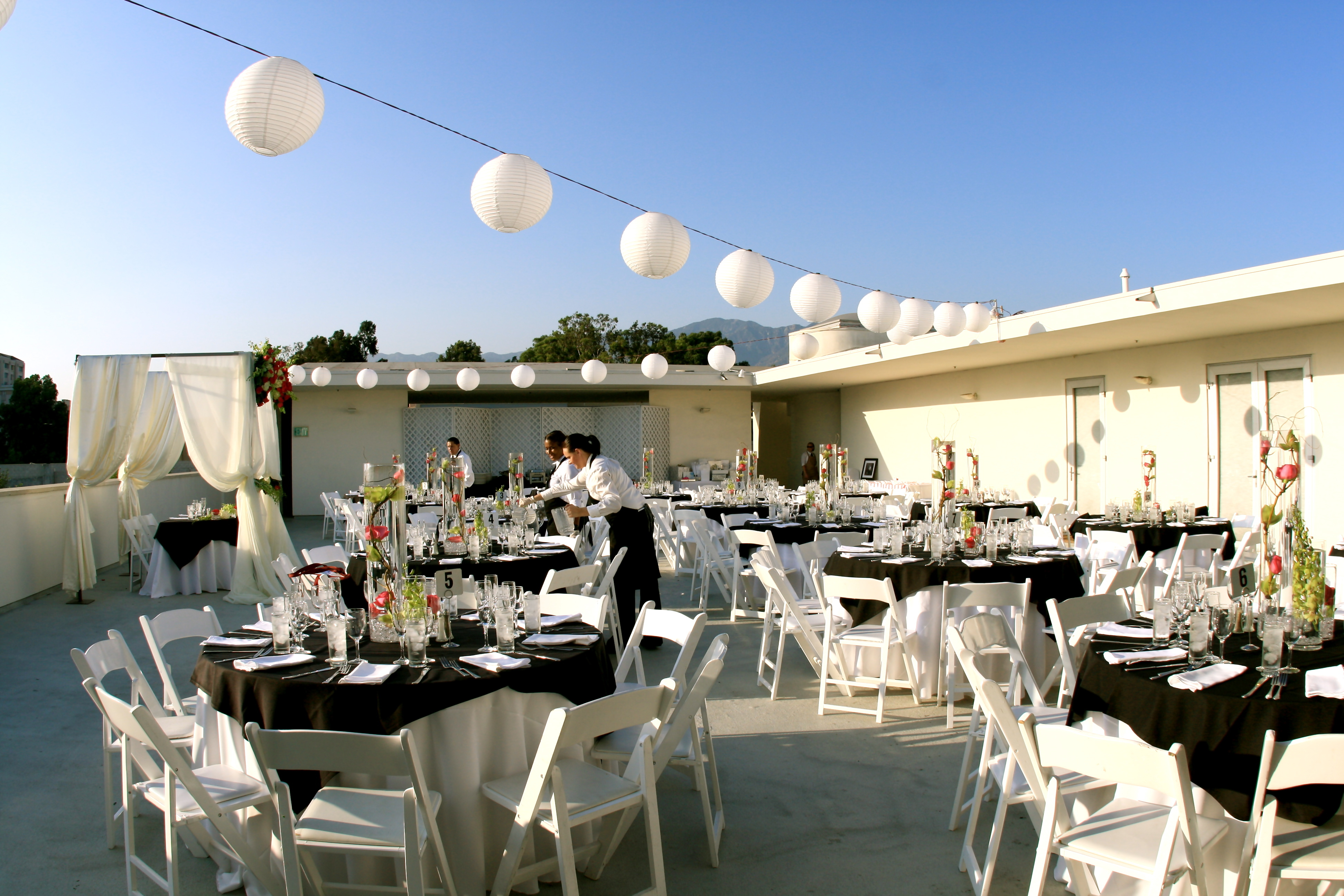 Reception, Flowers & Decor, white, Tables & Seating, Of, Chairs, California, Linens, Pasadena, Tables, Art, Museum, Truly yours catering