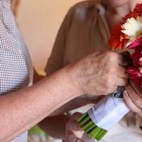 Flowers & Decor, white, orange, pink, Bride Bouquets, Flowers, Bouquet, Wedding bell events