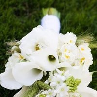 Ceremony, Flowers & Decor, white, silver, Ceremony Flowers, Bride Bouquets, Flowers, Bouquet, Trinity blooms floral design