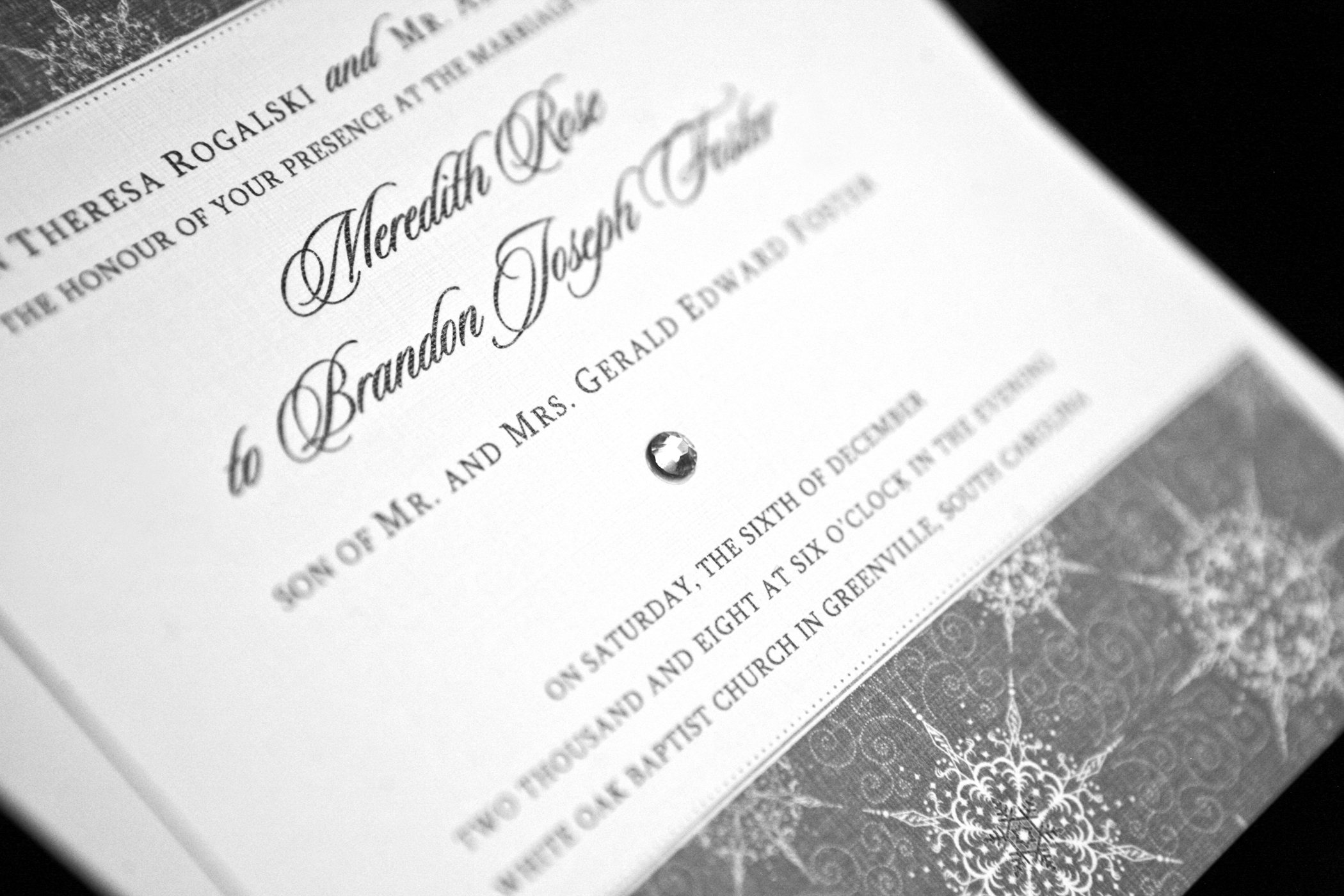 Stationery, white, black, invitation, Invitations, Wedding, Closeup