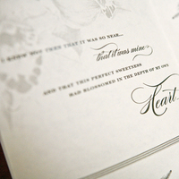 Stationery, white, black, Invitations, Wedding, Program, Booklet, Folded, Pages