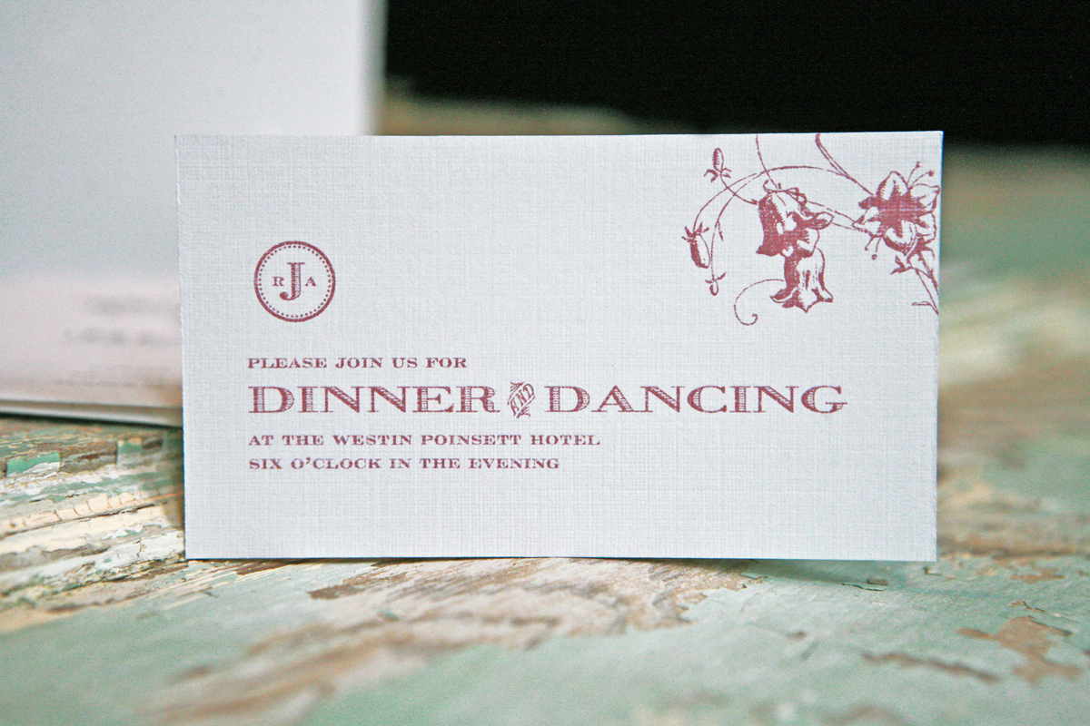 Stationery, white, Invitations, Dancing, Card, Dinner