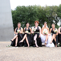 Bridesmaids, Bridesmaids Dresses, Fashion, black, Pristine portraits