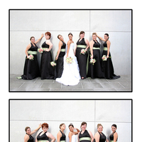 Bridesmaids, Bridesmaids Dresses, Fashion, black, Bride, Fun, Pose, Pristine portraits