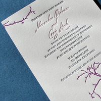 Stationery, Paper, pink, purple, Vineyard Wedding Invitations, Invitations, Cards, Wedding, Rsvp, Letterpress, Ink, Stationary, Suite