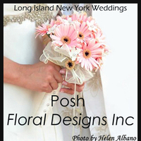 Flowers & Decor, white, pink, black, silver, Bride Bouquets, Flowers, Bouquet, Bridal, Posh floral designs inc