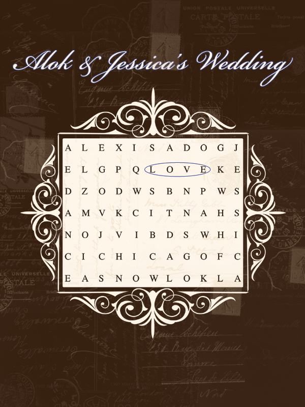 Ceremony, Inspiration, Reception, Flowers & Decor, Stationery, blue, brown, Invitations, Board, Divine designs llc, Cocktail hour sign, Wedding word search, Wedding poster