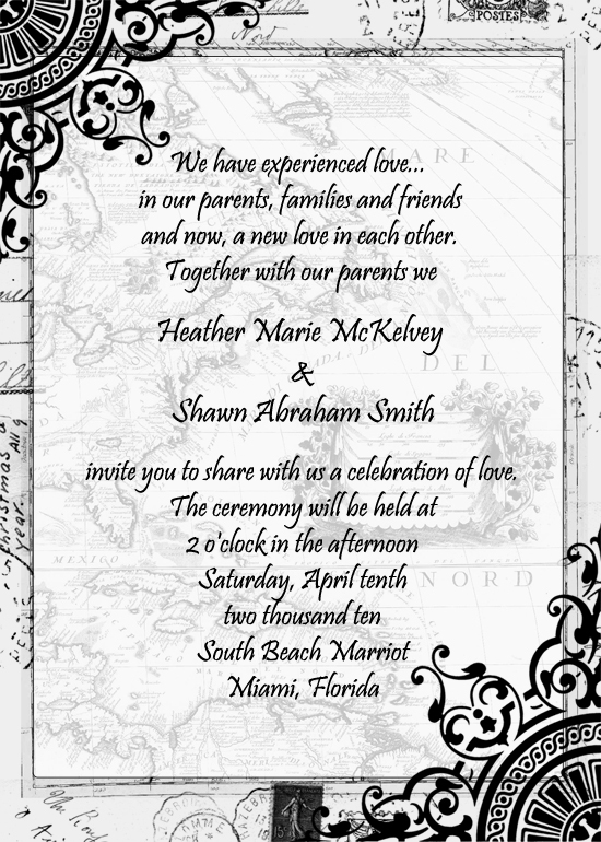 Stationery, white, black, Invitations, Divine designs llc, Black and white invitations, Vintage invitations