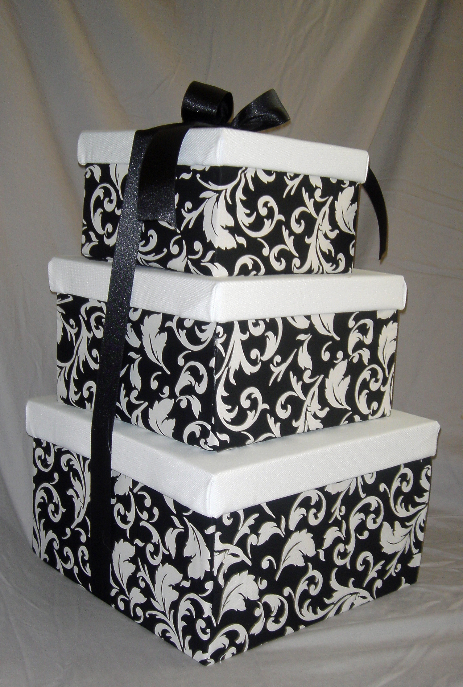 Box, Card, Damask, Big day boutique