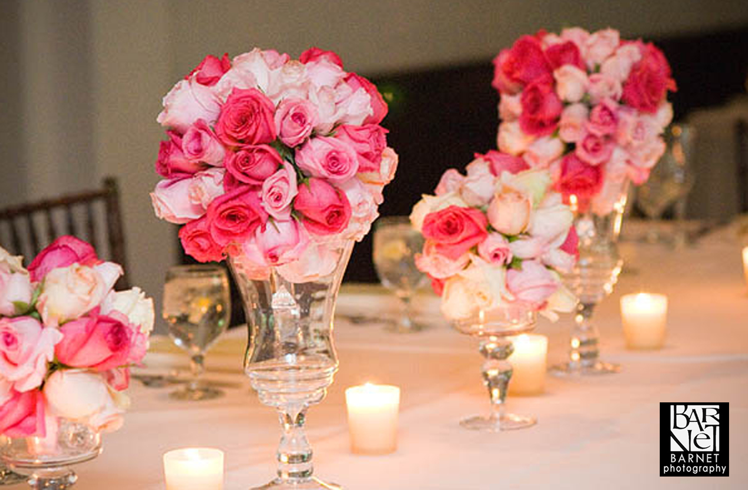 Reception, Flowers & Decor, white, pink, green, Centerpieces, Flowers, Centerpiece, Table, Head, Cesaro designs