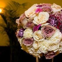 Reception, Flowers & Decor, purple, Centerpieces, Centerpiece, Graceful designs