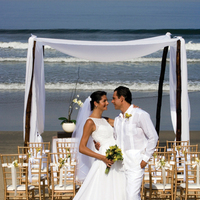 Ceremony, Flowers & Decor, gold, Beach, Beach Wedding Flowers & Decor, Front, Grand velas all suites spa resort, riviera nayarit