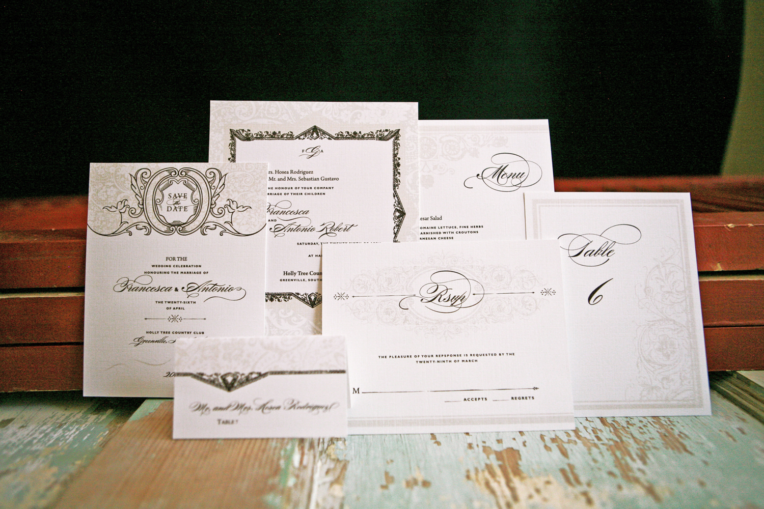 Stationery, Paper, white, brown, invitation, Invitations, Wedding, Floral, Hand, Ornate, Goods, Made, Lavish, Lanodesignstudio