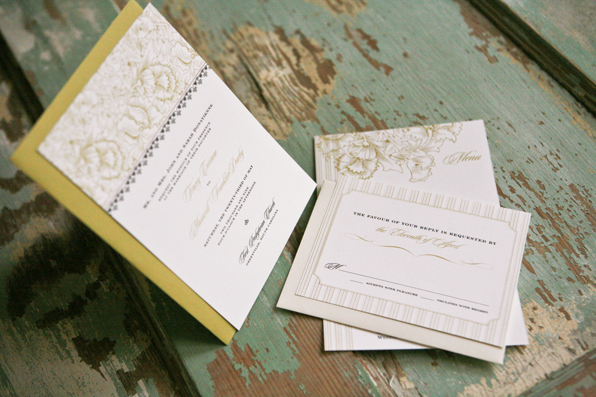 Garden Wedding Invitations, Vineyard Wedding Invitations