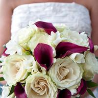 Flowers & Decor, white, purple, Bride Bouquets, Flowers, Bouquet, Hello bella weddings and events