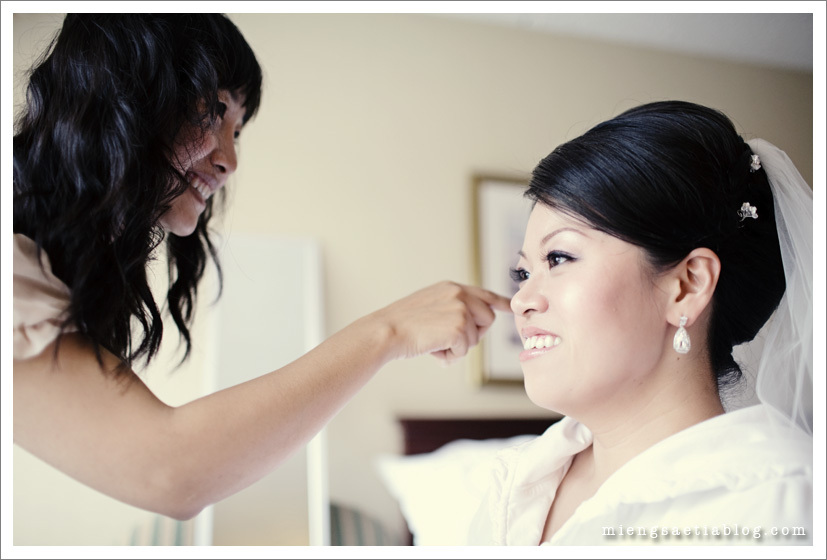 Beauty, Makeup, Bride, Getting ready, Mieng saetia photography