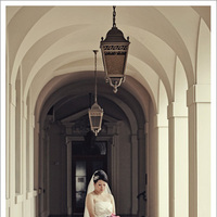 Bride, Portrait, Mieng saetia photography