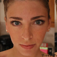 Beauty, brown, Makeup