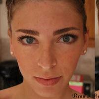 Beauty, brown, Makeup