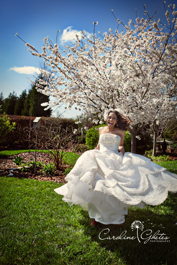 Wedding Dresses, Photography, Fashion, white, silver, dress, Bride, Gown, Laugh, Laughing, Caroline, Smile, Spinning, Smiling, Smiles, Caroline ghetes photography, Spins, Spin, Ghetes