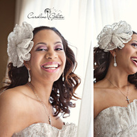 Beauty, Flowers & Decor, Wedding Dresses, Fashion, white, pink, silver, dress, Makeup, Bride Bouquets, Bride, Flowers, Flower, Laugh, Hair, Happy, Laughing, Silly, Hairpiece, Beaded, Smiling, Beads, Smiles, Eyeshadow, Caroline ghetes photography, Flower Wedding Dresses
