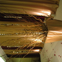 Reception, Flowers & Decor, gold, Branches, Nes weddings, Stage decor, Reception backdrop, Wedding crystals