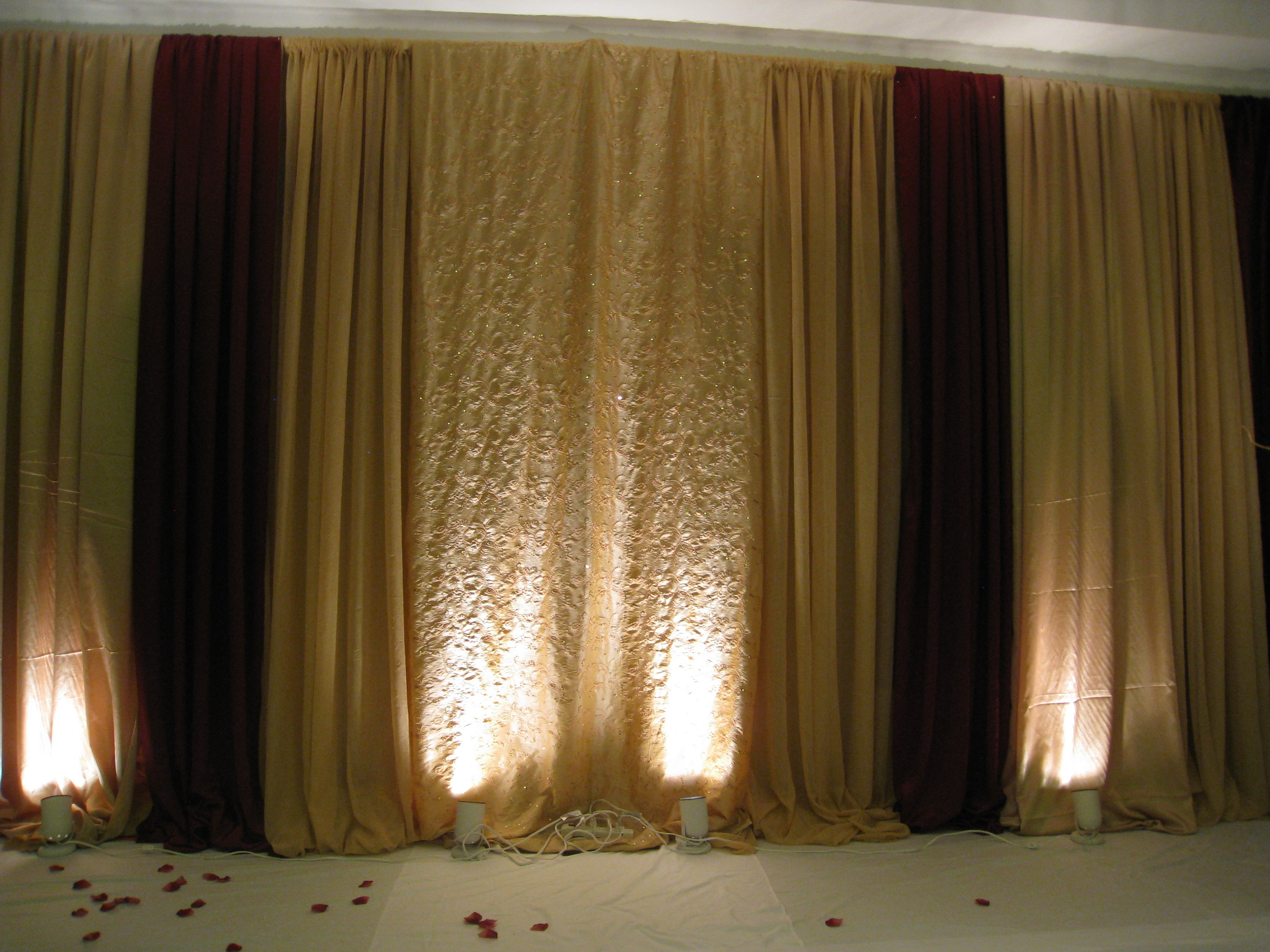 Reception, Flowers & Decor, gold, Wedding, Stage, Backdrop, Nes weddings