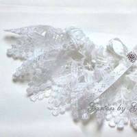 Ceremony, Reception, Flowers & Decor, Bridesmaids, Bridesmaids Dresses, Lace Wedding Dresses, Fashion, white, Lace, Venice, Garters by gingersnap