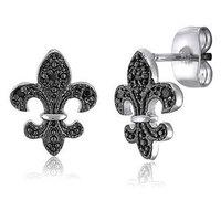 Jewelry, silver, Earrings, Newoutletcom, Cubic zirconia earrings, Cz earrings, Sterling silver earrings, Silver earrings, Wedding earrings