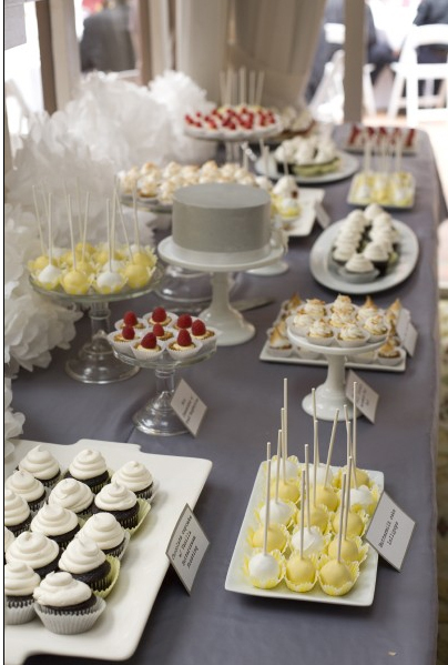 Reception, Flowers & Decor, white, yellow, black, silver, In the clouds events