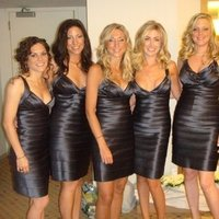 Beauty, Bridesmaids, Bridesmaids Dresses, Fashion, blue, Makeup, Hair