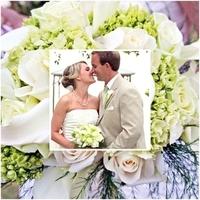 Ceremony, Inspiration, Flowers & Decor, white, green, Ceremony Flowers, Flowers, Board