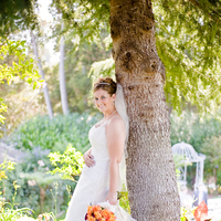 Beauty, Flowers & Decor, Wedding Dresses, Fashion, orange, dress, Flowers, Hair, Kim mendoza photography, Flower Wedding Dresses