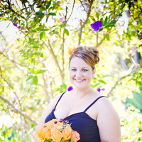 Flowers & Decor, Bridesmaids, Bridesmaids Dresses, Fashion, orange, black, Bridesmaid Bouquets, Flowers, Kim mendoza photography, Flower Wedding Dresses