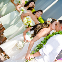 Beauty, Ceremony, Flowers & Decor, Bridesmaids, Bridesmaids Dresses, Fashion, white, green, Hair, Kim mendoza photography