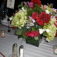 Flowers & Decor, pink, red, Centerpieces, Flowers
